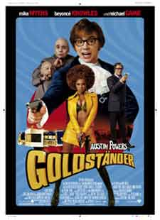 Austin Powers in Goldständer - Filmplakat